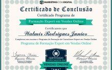 Certificação como Expert em Vendas Online
